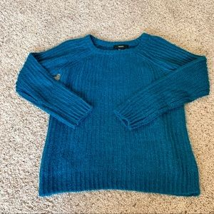 NWT Teal Oversized Forever 21 Sweater
